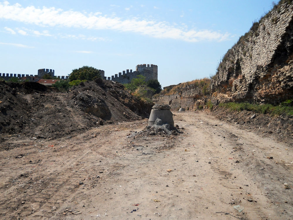 Construction by the City Walls, Protected by UNESCO